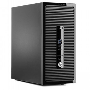 PC Microtorre HP ProDesk 490 G2 - J4B02EA vista lateral izquierda