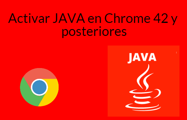 Activar Java en chrome 42