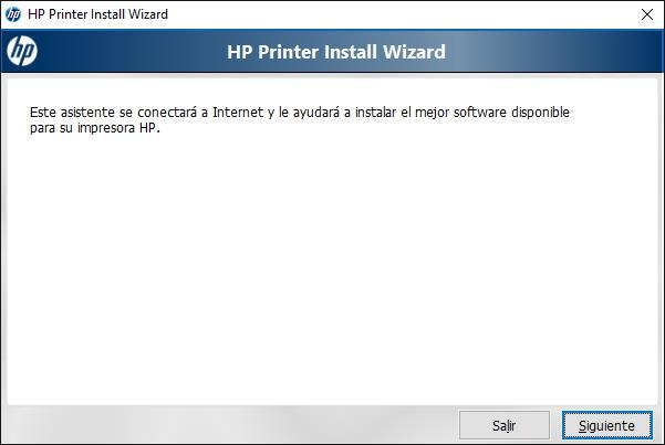Instalador automatico de drivers de impresoras HP